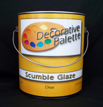 Decorative Palette - Scumble Glaze - Quart
